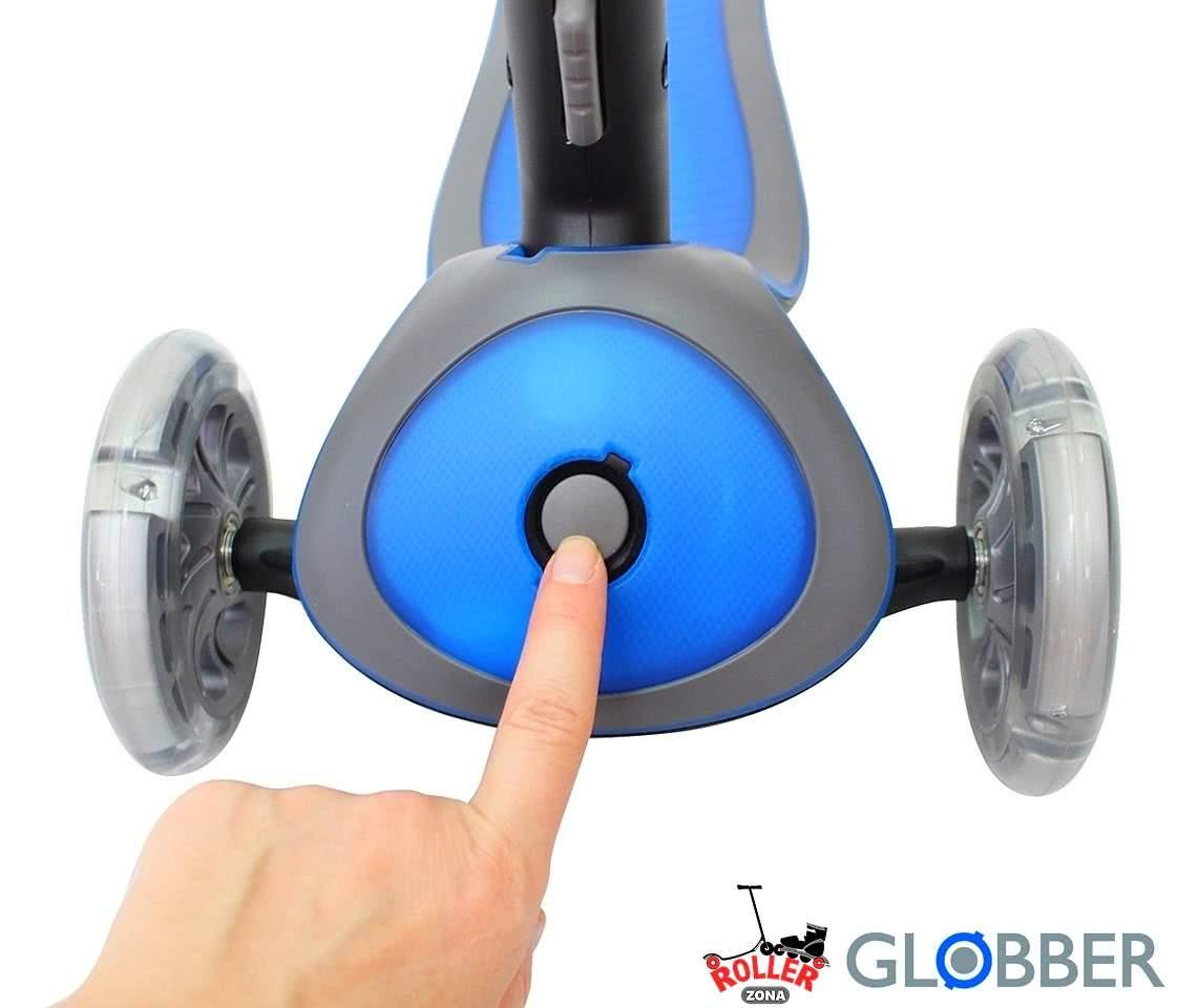 кнопка блокировки колес GLOBBER PRIMO PLUS TITANIUM