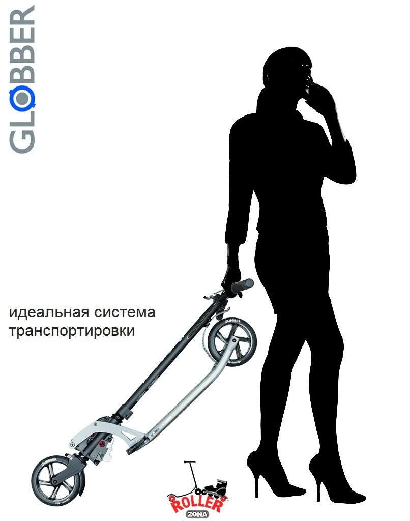 Самокат Globber My TOO ONE К 180 Deluxe Kleefer