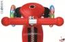 Самокат GLOBBER PRIMO Fantasy со светящимися колесами RACING Red 8