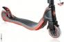 Самокат Globber My TOO FIX UP 125 со светящимися колесами Черно-Красный 4