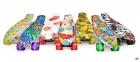 Penny Board абстракция краска со светящимися колесами 0