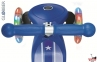 Самокат GLOBBER PRIMO Fantasy со светящимися колесами STARS&STRIPS Navy Blue 4