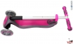 Самокат Globber elite f my free FOLD UP light со светящимися колесами Розовый  33