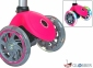 Самокат GLOBBER EVO 5 in 1 розовый со светящимися колесами  31