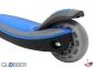 Самокат Globber elite f my free FOLD UP light  со светящейся платформой и светящ. колес DARK BLUE 4