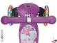 Самокат GLOBBER PRIMO Fantasy со светящимися колесами STARS Violet Neon Purple 3