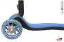 Самокат Globber elite f my free FOLD UP light  со светящейся платформой и светящ. колес DARK BLUE 2