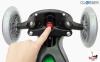 Самокат GLOBBER PRIMO PLUS со светящимися колесами зеленый 28