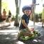 Самокат GLOBBER PRIMO PLUS со светящимися колесами зеленый 36