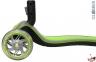 Самокат Globber elite f my free FOLD UP light  со светящимися колесами Зеленый 42