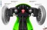 Самокат GLOBBER EVO 2С 4 in 1 зеленый со светящимися колесами  6