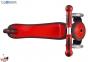 Самокат GLOBBER EVO 5 in 1 красный со светящимися колесами  9
