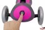 Самокат GLOBBER EVO 5 in 1 розовый со светящимися колесами  14