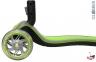 Самокат Globber elite f my free FOLD UP light  со светящимися колесами Зеленый 26