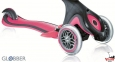 Самокат GLOBBER EVO 5 in 1 розовый со светящимися колесами  36