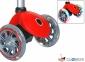 Самокат GLOBBER EVO 5 in 1 красный со светящимися колесами  4