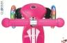 Самокат GLOBBER PRIMO Fantasy со светящимися колесами LOGO Neon pink 8