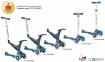 Самокат GLOBBER EVO 5 in 1 синий со светящимися колесами  15