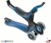 Самокат GLOBBER EVO 5 in 1 синий со светящимися колесами  31