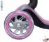 Самокат Globber elite f my free FOLD UP light со светящимися колесами Розовый  52