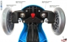 Самокат GLOBBER EVO 2С 4 in 1 голубой со светящимися колесами Sky Blue 11