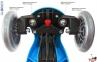 Самокат GLOBBER PRIMO Fantasy со светящимися колесами RACING Navy Blue 12