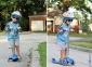 Самокат GLOBBER PRIMO PLUS со светящимися колесами синий 48