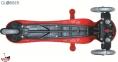 Самокат GLOBBER EVO 5 in 1 COMFORT LIGHTS красный со светящимися колесами 10