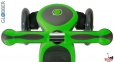 Самокат GLOBBER PRIMO PLUS TITANIUM со светящимися колесами зеленый 5