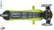 Самокат GLOBBER EVO 2С 4 in 1 зеленый со светящимися колесами  14