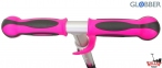Самокат Globber elite f my free FOLD UP light со светящимися колесами Розовый  53