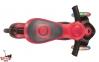 Самокат GLOBBER EVO 5 in 1 COMFORT LIGHTS красный со светящимися колесами 4