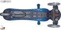 Самокат GLOBBER EVO 5 in 1 синий со светящимися колесами  30