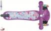 Самокат GLOBBER PRIMO Fantasy со светящимися колесами STARS Violet Neon Purple 1