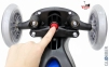 Самокат GLOBBER PRIMO PLUS со светящимися колесами синий 15