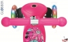 Самокат GLOBBER PRIMO Fantasy со светящимися колесами BIG Flowers Neon  4