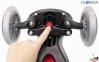 Самокат GLOBBER EVO 5 in 1 COMFORT LIGHTS красный со светящимися колесами 14