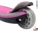 Самокат Globber elite f my free FOLD UP light со светящимися колесами Розовый  32