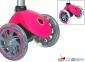 Самокат GLOBBER PRIMO Fantasy со светящимися колесами LOGO Neon pink 4
