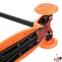 Самокат Maraton Scooter Maxi оранжевый со светящимися колесами 2