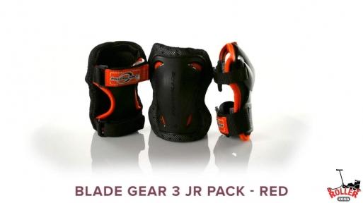 Защита Rollerblade blade gear 3 jr pack red