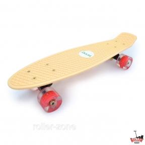 Penny Board Пастельный со светящимися колесами