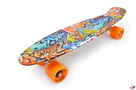 Penny Board граффити