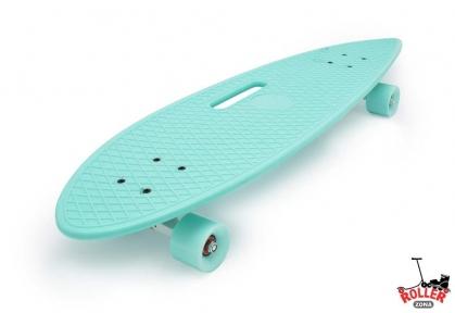 Penny Board Longboard Fish голубой