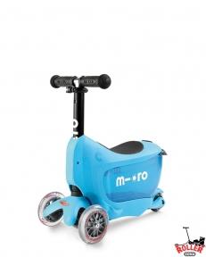 Самокат Micro Mini2go Deluxe Blue