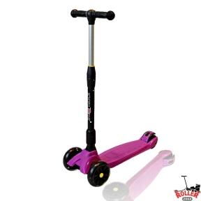 Самокат Explore SMART F розовый со светящимися колесами