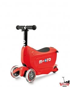 Самокат Micro Mini2go Deluxe Red