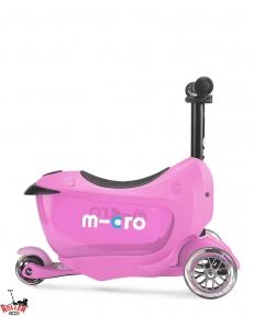Самокат Micro Mini2go Deluxe Pink