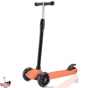Самокат Explore Ecoline SIGMA оранжевый со светящимися колесами