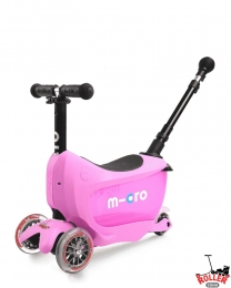 Самокат Micro Mini2go Deluxe Plus Pink